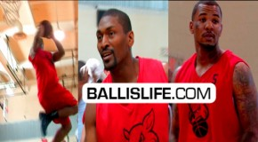 DeMar DeRozan, Ron Artest & The Game Show Out @ LA Drew League!