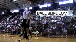 Duke's Mason Plumlee Shows Out During 1st Game of 2011 NC Pro-Am (Durham, NC)