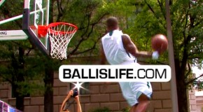 Roscoe Johnson Has INSANE Hops; Hits Head On The Rim + Elbow Windmill & More!!