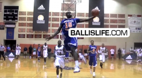 Shabazz Muhammad Scores 42 Points in Come Back Victory Over Indiana Elite (adidas Invitational)
