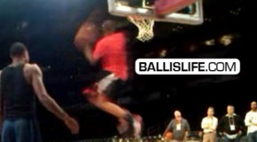 Demar Derozan Does Dunk Blake Griffin Couldn't Do! Off The Side 360 With Ease!!