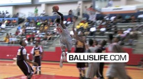 "6'6″ Danuel House ""Texas Pro"" -DUNK OF THE DAY"