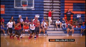 Jarell Martin Does Between The Legs Dunk IN A Game at Las Vegas Fab 48!