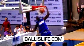 JJ Hickson & Josh Selby SHOW OUT At Impact Competitive Basketball League!