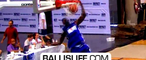 JJ Hickson &#038; Josh Selby SHOW OUT At Impact Competitive Basketball League!