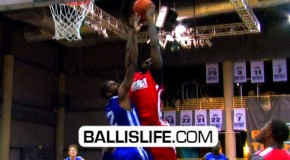 JJ Hickson Dunks ALL OVER Jeremy Evans At Impact Basketball!!!!