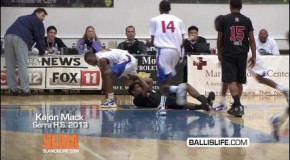 Kajon Mack Posterizes Defender @ NPC