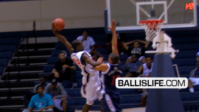 Stephen Maxwell POSTERIZES Defender At Ballislife All American Regional Game!