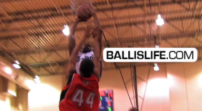 DOD: Montay Brandon Skies Over Defender Late in a Close Game at 2011 Best of Summer (D-One Sports)
