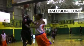 DOD: 6'3″ Rodney Purvis Gets Steal & Eyes Down Opponent Before Posterizing Him! (Real Deal in the Rock)
