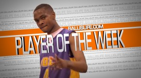 6'5″ Torian Graham is the BallisLife Player of the Week #7 (King James Shooting Stars)