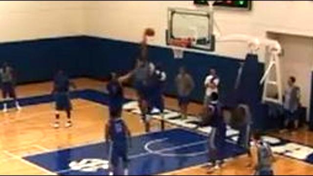 Anthony Davis Dunks ALL Over Mike Gilchrist During Practice