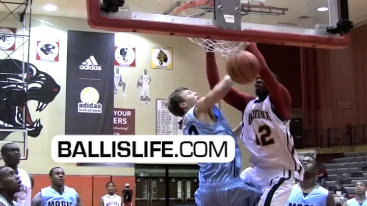6'8″ Super Athlete Hanner Perea Enters Senior Year HOOSIER Ready (Class of 2012 – Indiana Commit)