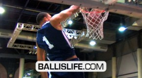 7′ JaVale McGee Dunking Everything During Impact Basketball Series In Las Vegas!