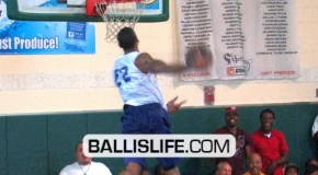 Malcom Thomas is a BEAST inside and out side the paint!!