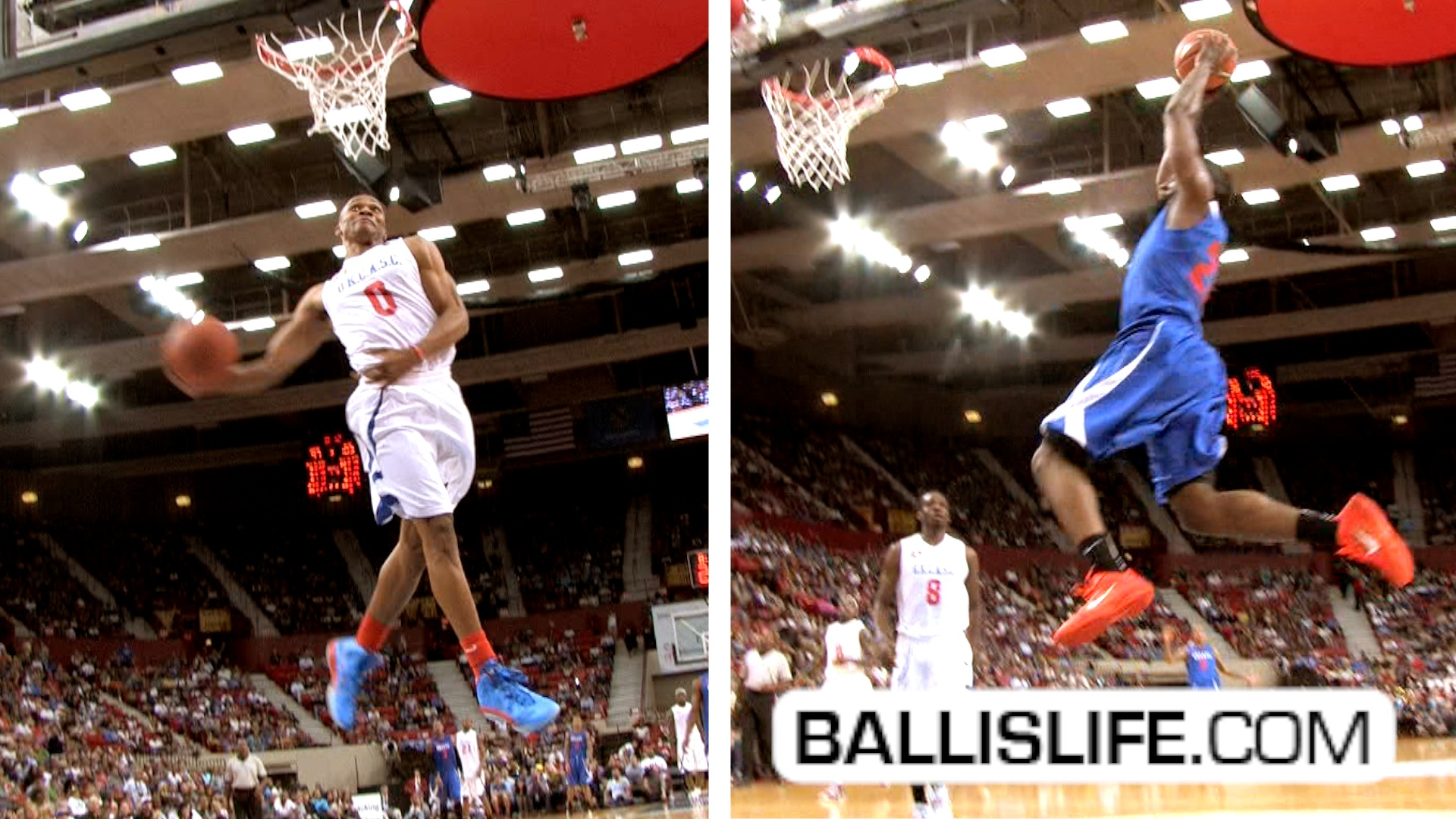 Ballislife | Russell Westbrook and James Harden