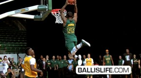 "5'10″ Pierre Jackson- SHUTS DOWN ""Baylor University Moonlight Madness DUNK CONTEST""!"