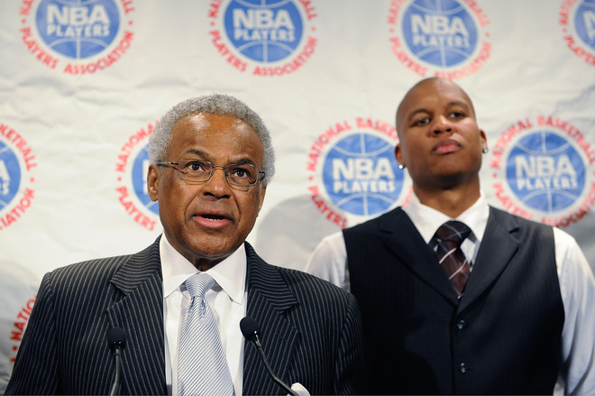 NBA And Player's Association Meet To Negotiate CBA