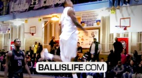 "Brandon Jennings & Lance Stephenson CRUSH Windmills In Under Armour ""R U From Here"" Game!"