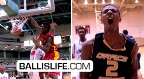 DOD: Melvin Swift & Jordan Mickey Kick Off The High-School Season With NASTY DUNKS!