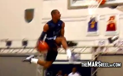 Jabril Trawick And Patrick Ewing Jr. Shut DOWN Georgetown University Midnight Madness Dunk Contest!