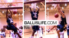Grace Prep Academy DOMINATES THEIR FIRST GAME-Isaiah Austin, Emmanuel Mudiay, Jordan Mickey & Jelon Hornbeak