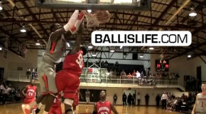 Dunk of the Day: 6&#8217;7&#8243; VT Commit Montrezl Harrell 2 Nasty Poster Dunks In 1 Game! (Hargrave Military)