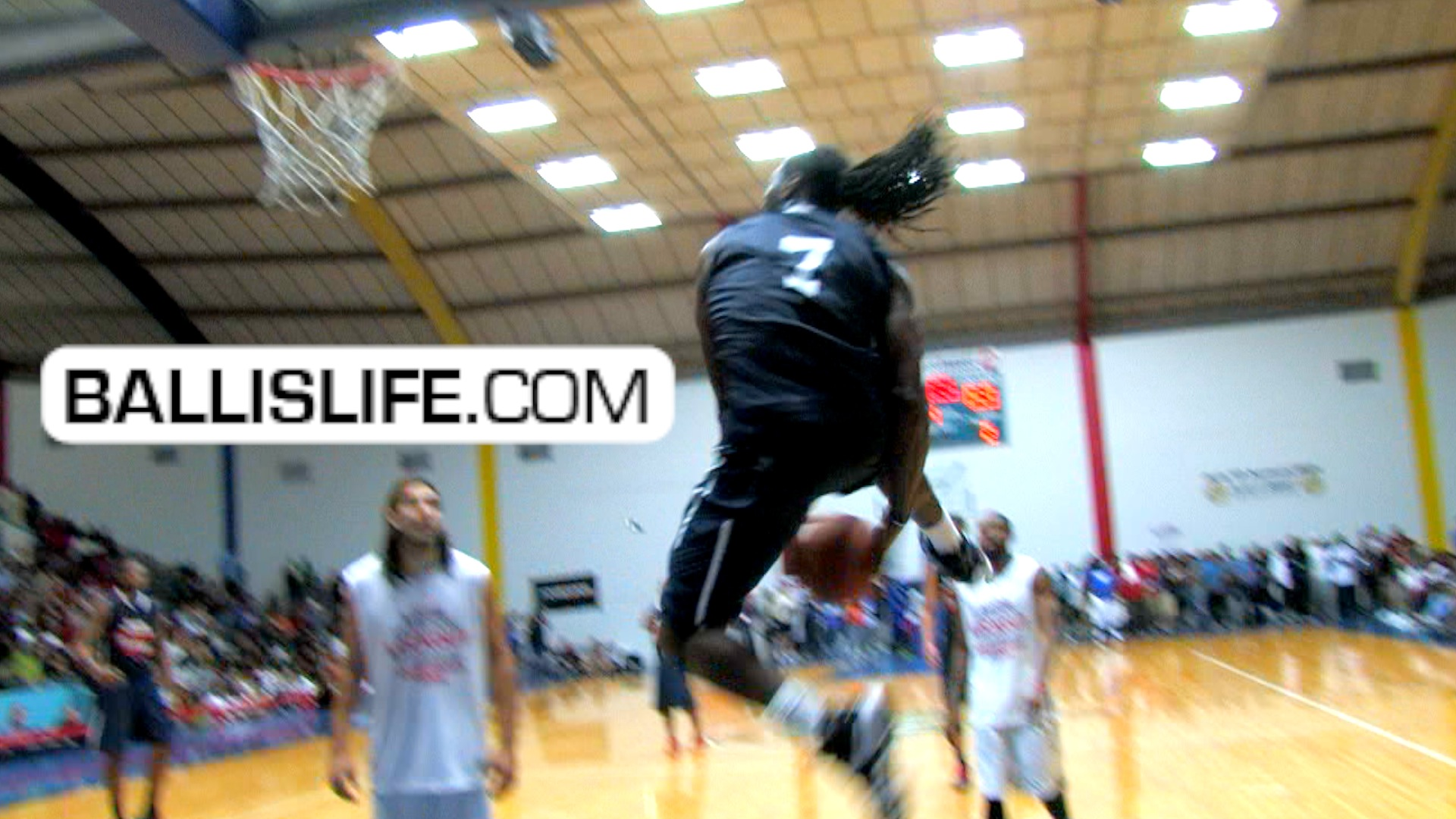 Ballislife | Kenneth Faried at John Lucas Celeb Game