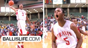 "The Harrison Twins ""WERE DEFINITELY IN THEIR ZONE!""-(Fort Bend Travis vs Houston Yates)"