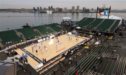 Navy Carrier Classic Basketball