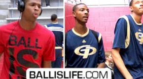 Harrison Twins VS Isaiah Austin & Jordan Mickey- NATIONS ELITE Players Go HEAD-TO-HEAD!