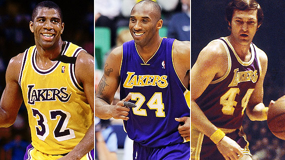 Shaq & Jerry West Think Kobe is the Best Laker Ever. What about Magic?
