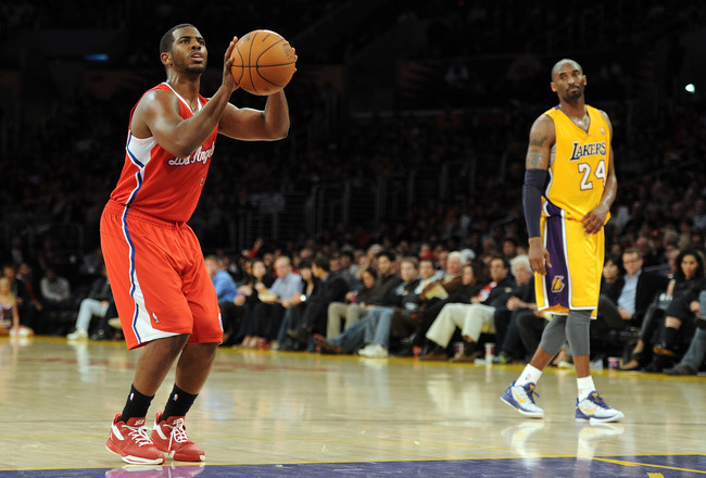 Kobe and Chris Paul
