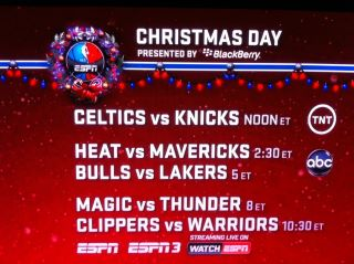 check out who some of the top espn experts and bloggers picks for the first games of this nba season - Christmas Day Games