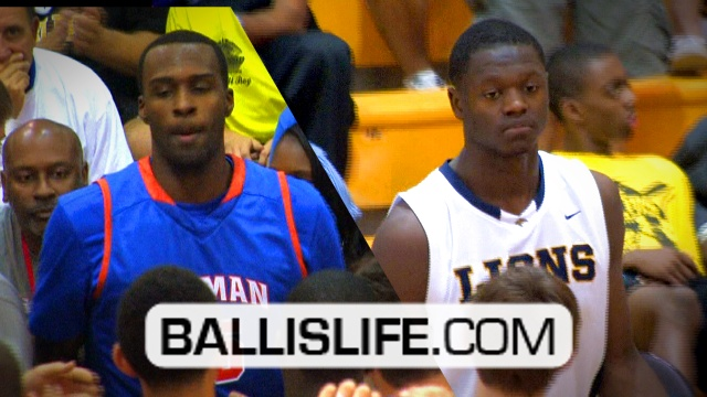 Shabazz Muhammad (42 pts) Vs. Julius Randle (26 pts); #1 Player In 2012 vs #1 Player In 2013
