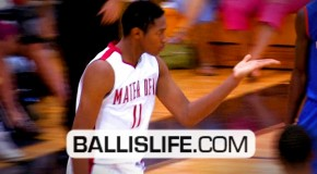 Xavier Johnson Dunks By Shabazz Muhammad & Blows Him a Kiss Afterward @ City Of Palms Classic!