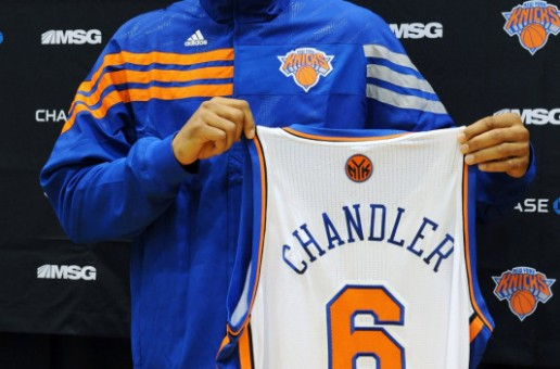 Tyson Chandler Press Conference