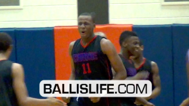 6'11 Jahlil Okafor v. 6'9 Cliff Alexander: 2014 star big men battle at Whitney Young Shootout (Chicago, IL)