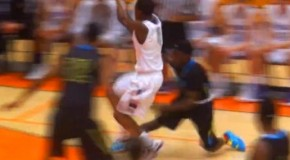 Aquille Carr TAKES OFF For 36 Points Vs. Gonzaga At MLK Hoopfest Showcase!
