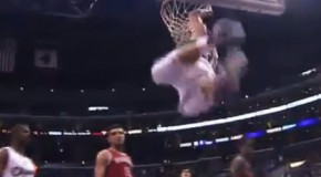 Lob City: CP3 With the steal and lob pass to Griffin | Griffin Dunks on Ersan