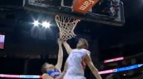 Chandler Parsons Project: Another crazy tip dunk