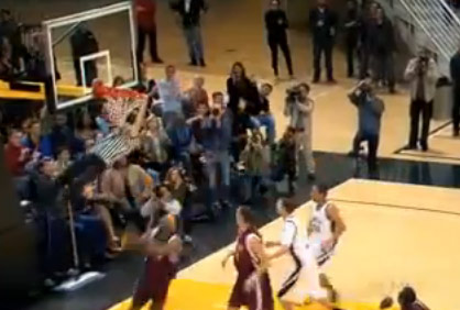 Ref catches alley oop during game…wait a minute…what?