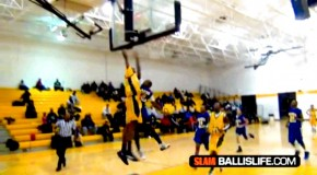POTD: Chicago 8th grader poster dunk 3-point play by Ben Coupet Jr.!