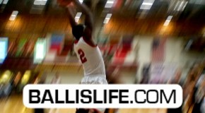 Shaquille Johnson with a SICK Reverse Windmill at 2012 Burger King Classic (Dunk of the Day)