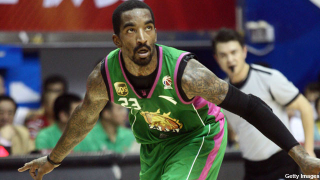 JR Smith (57 PTS) vs Marcus Williams (49 PTS) In CBA 1/8/11!!