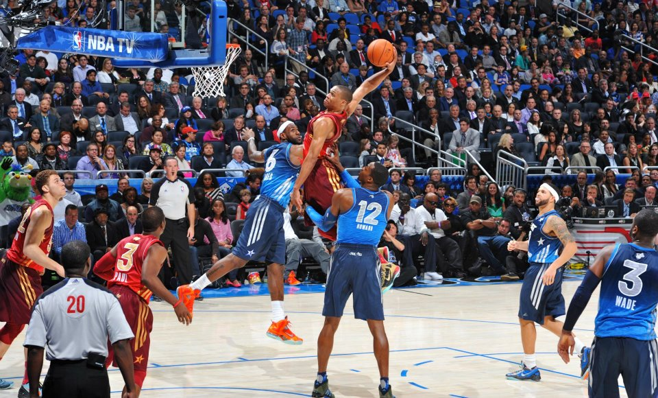 Gallery: Russell Westbrook Dunks at NBA AllStar Game
