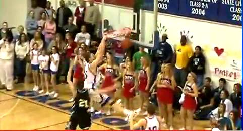 Blake Griffin Dunking EVERYTHING Back In High School! [VIDEO]