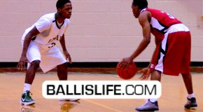 5'10″ Michael King vs 5'9″ Benquan Petty- Two Point-Guards Battling For District!