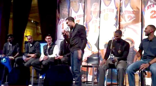 Landry Fields & Iman Shumpert The Best Singing & Rapping Duo In The NBA!?