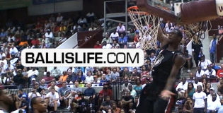 NCAA Player of the Year Candidate Harrison Barnes Putting on a Show for NC Pro/Am Crowd